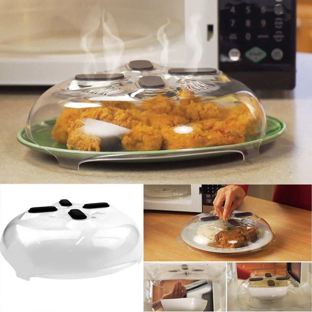 Safe Kitchen Microwave Splash Cover Anti-Sputtering Microwave Hover Cover