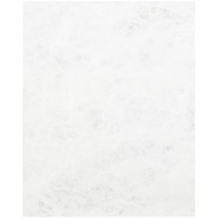 JAM Paper Tyvek® Paper, 8.5 x 11, 14lb White, 50 Sheets/pack ()