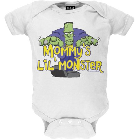 Halloween Mommy's Lil' Monster Baby One Piece](Mommy And Baby Halloween Ideas)