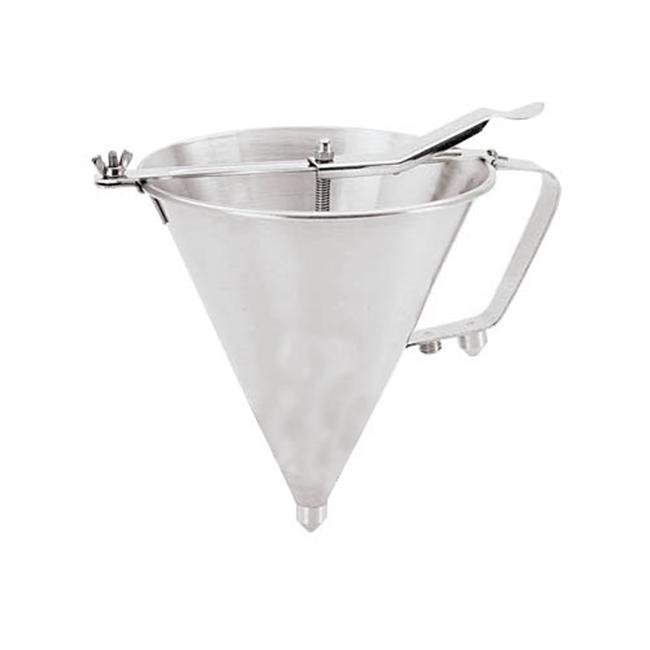 World Cuisine A4780019 7. 5 x 7 Inch Stainless Steel Automatic Confectionary Funnel