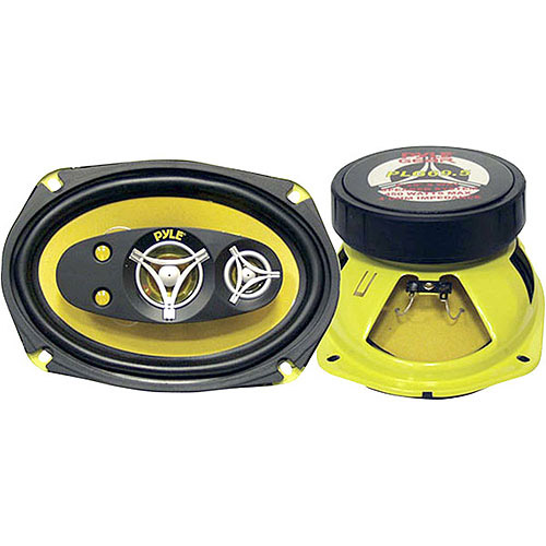 "Pyle Gear X Series 6"" x 9"" 450W 5-Way Speakers"