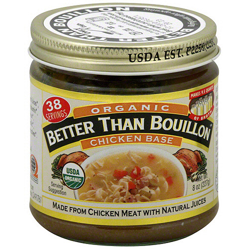 Superior Touch Better Than Bouillon Organic Chicken Base Broth, 8 oz (Pack of 6)