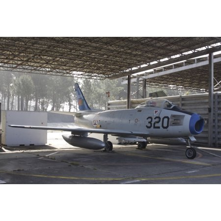 An F-86 Sabre of the Portuguese Air Force Monte Real Portugal Poster
