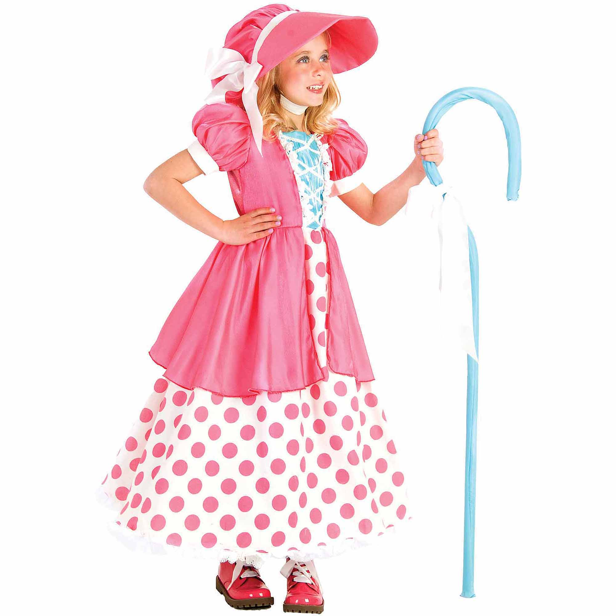 Polka Dot Bo Peep Child Halloween Costume