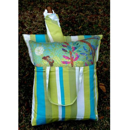 Magnolia Casual Prism Garden Hammock Chair & Pillow Set