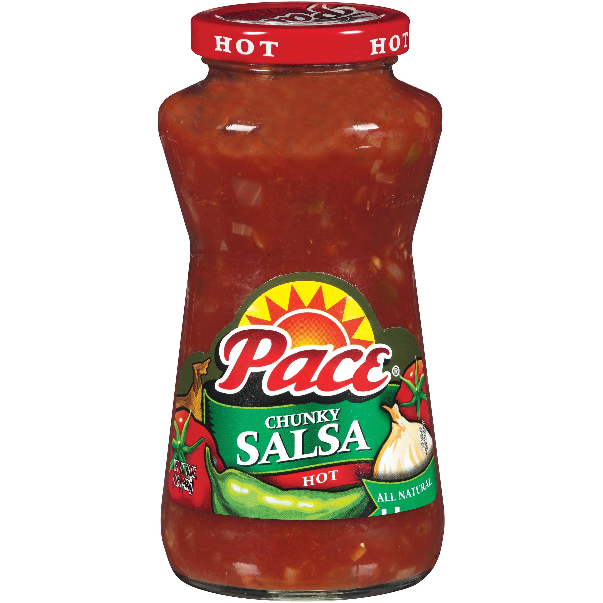Pace Hot Chunky Salsa 16oz