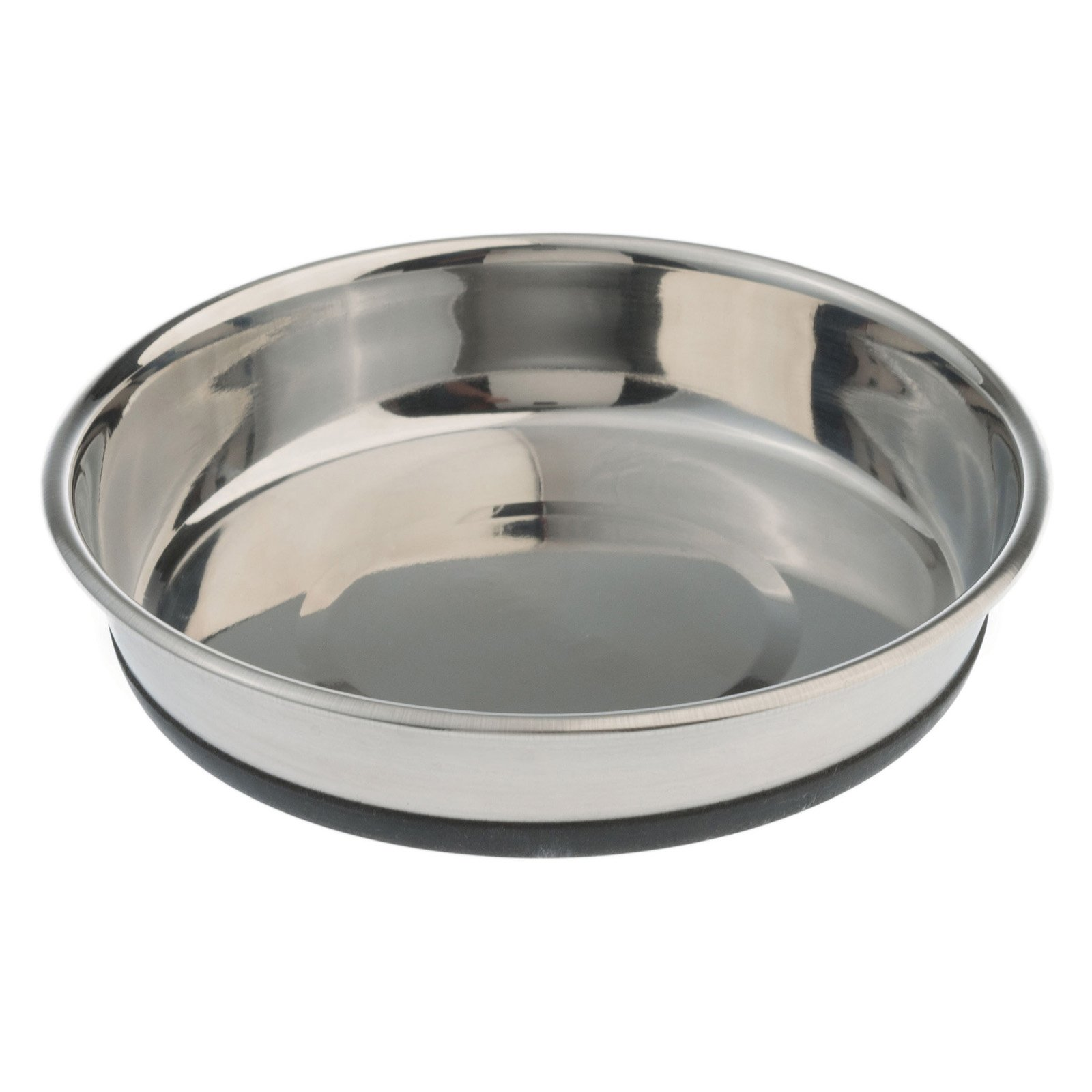 Pet Zone 1550012514 1.5 Cup No-Slip Stainless Steel Cat Dish