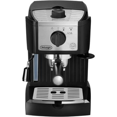 De'Longhi Pump Espresso Machine in Black/Stainless