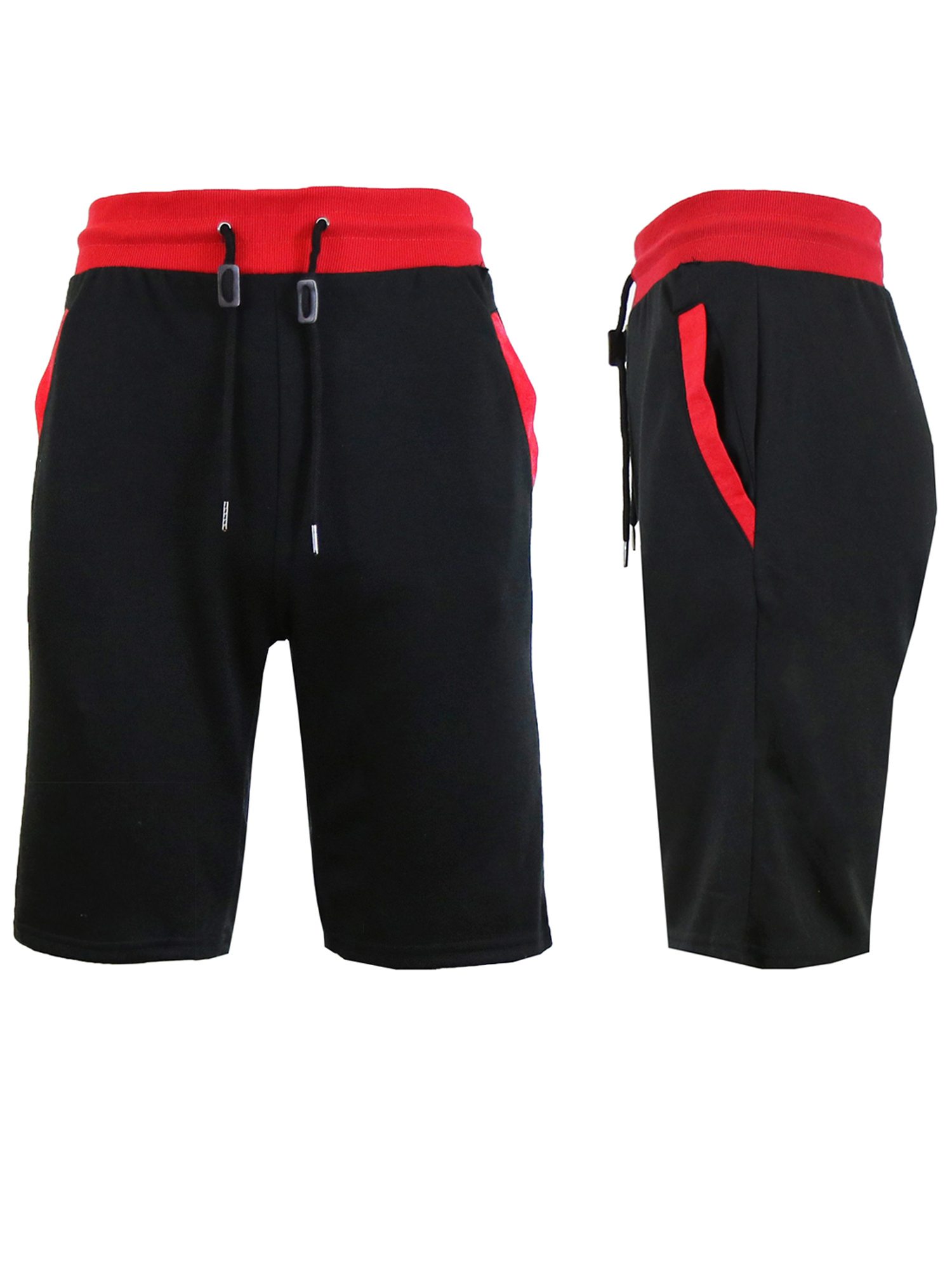 Men's Sweat Jogger Shorts With Trim