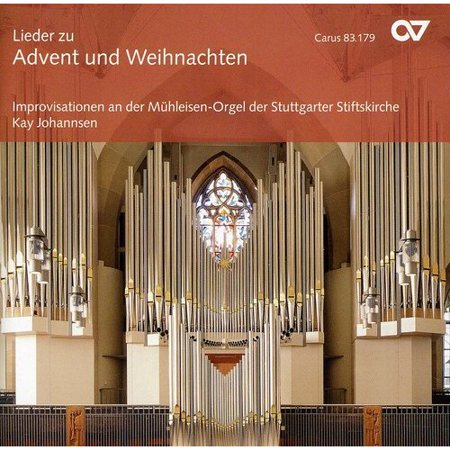 Organ Improvisations on Advent & Christmas Music (CD)