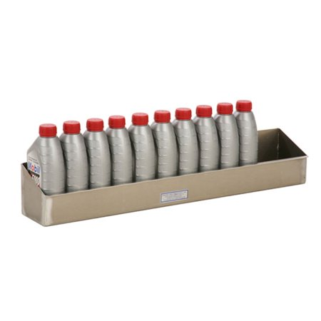 12 Quart Aluminum Spray Bottle Storage Shelf