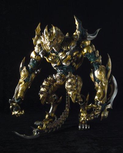 Gold Knight Garo: Berserk Garo & DaMaged Zaruba Action Figures by Bandai by
