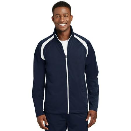Sport-Tek® Tricot Track Jacket. Jst90 True Navy/White 4Xl - image 1 de 1
