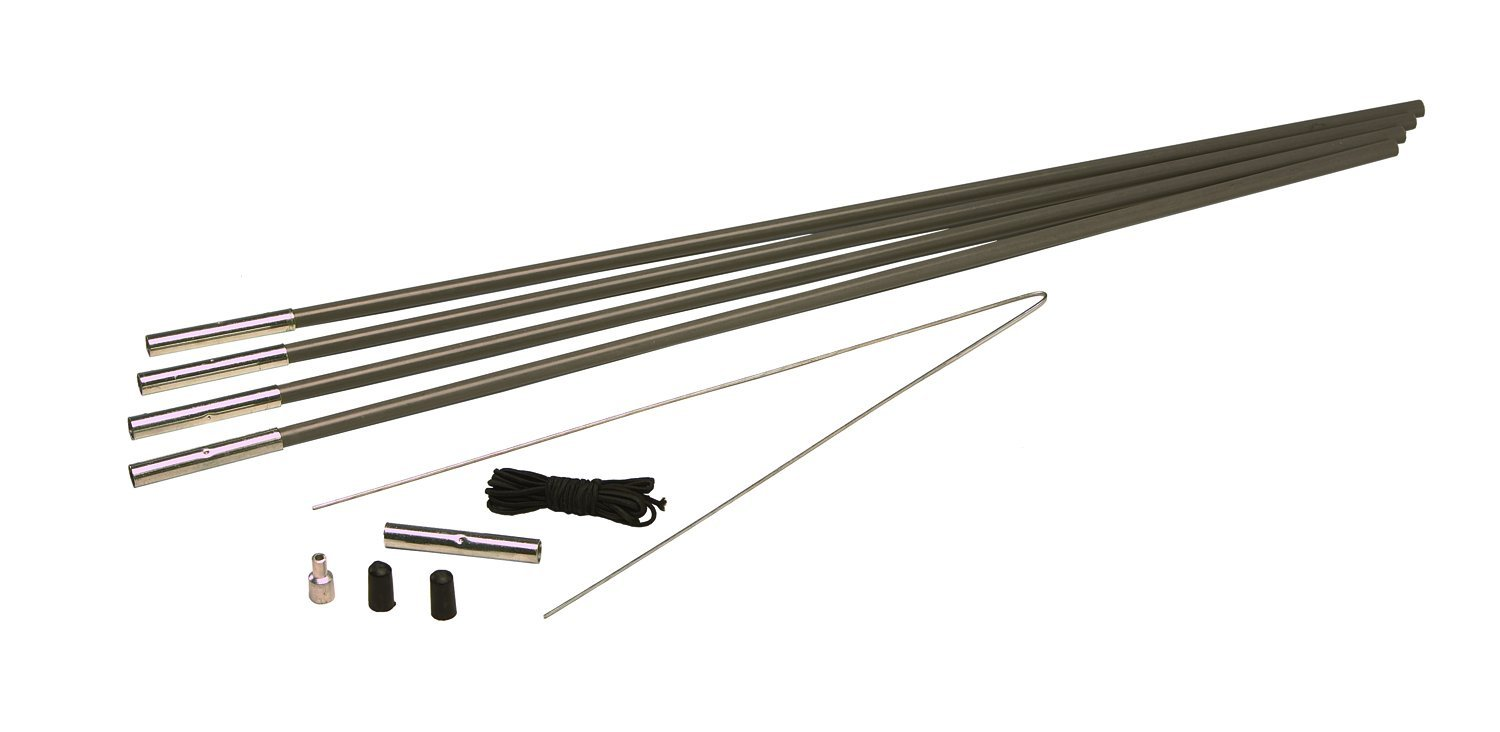 7/16-Inch Tent Pole Replacement Kit tent Fiberglass poles 516Inch Four 716Inch Replacement 255Inch Tent 38Inch ShockCord fiberglass Kit Repair Diameter ...  sc 1 st  Walmart & 7/16-Inch Tent Pole Replacement Kit tent Fiberglass poles 516Inch ...