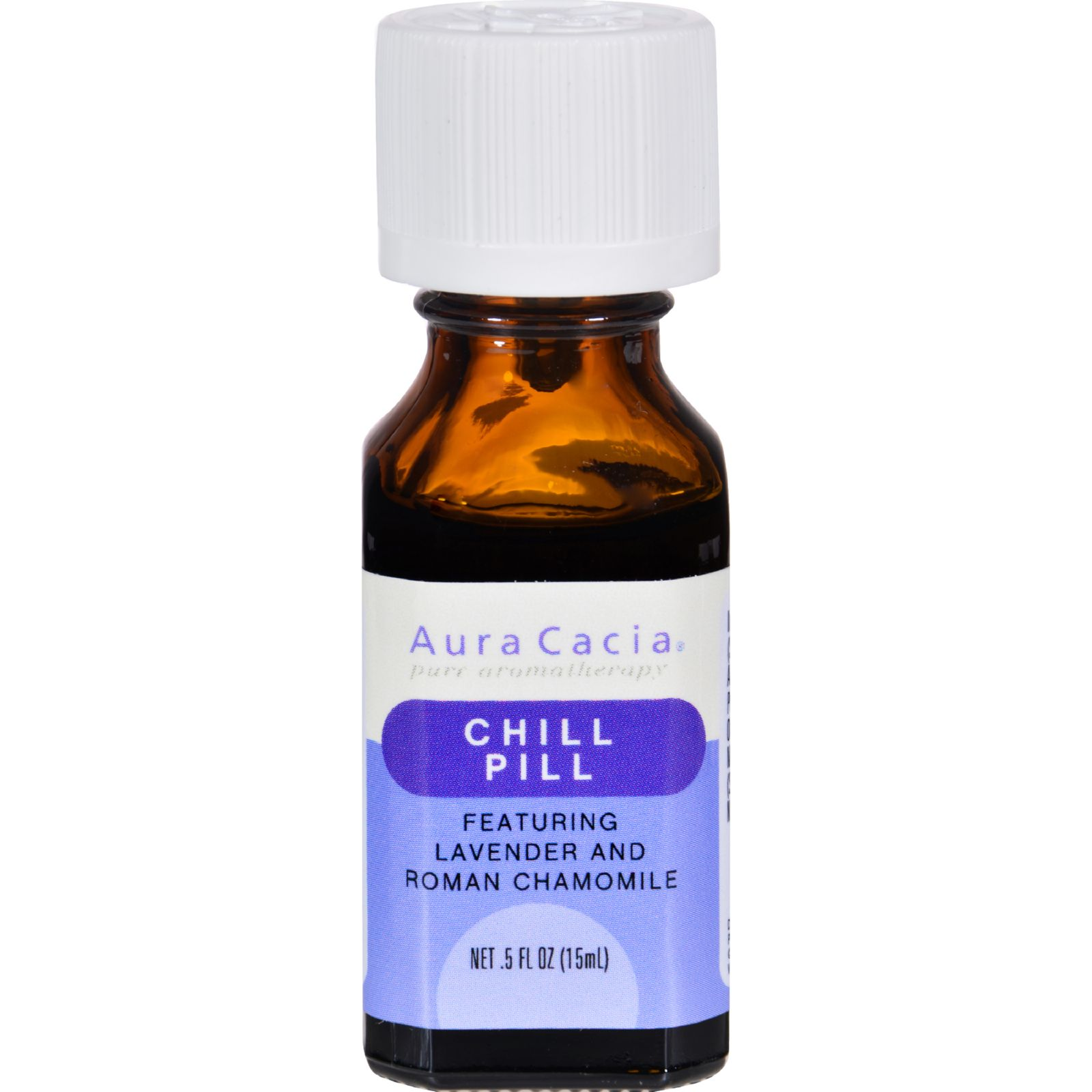 Frontier Natural Aura Cacia  Chill Pill, 0.5 oz