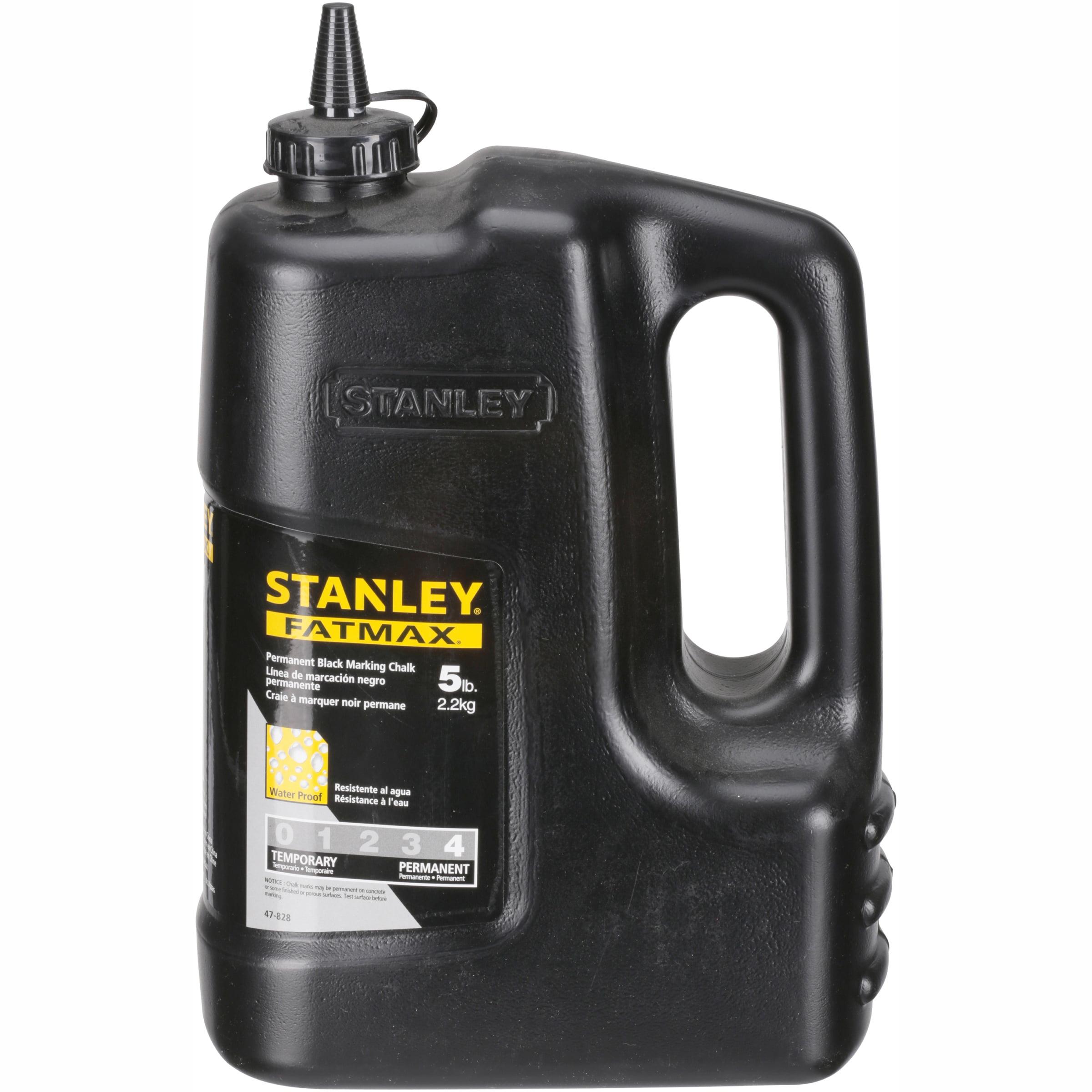 Stanley® Fatmax® Permanent Black Marking Chalk 5 lb. Bottle