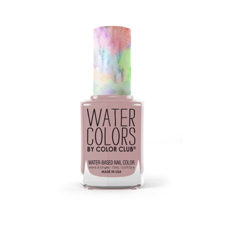 Color Club Water Colors Non-Toxic Nail Color, A Shore
