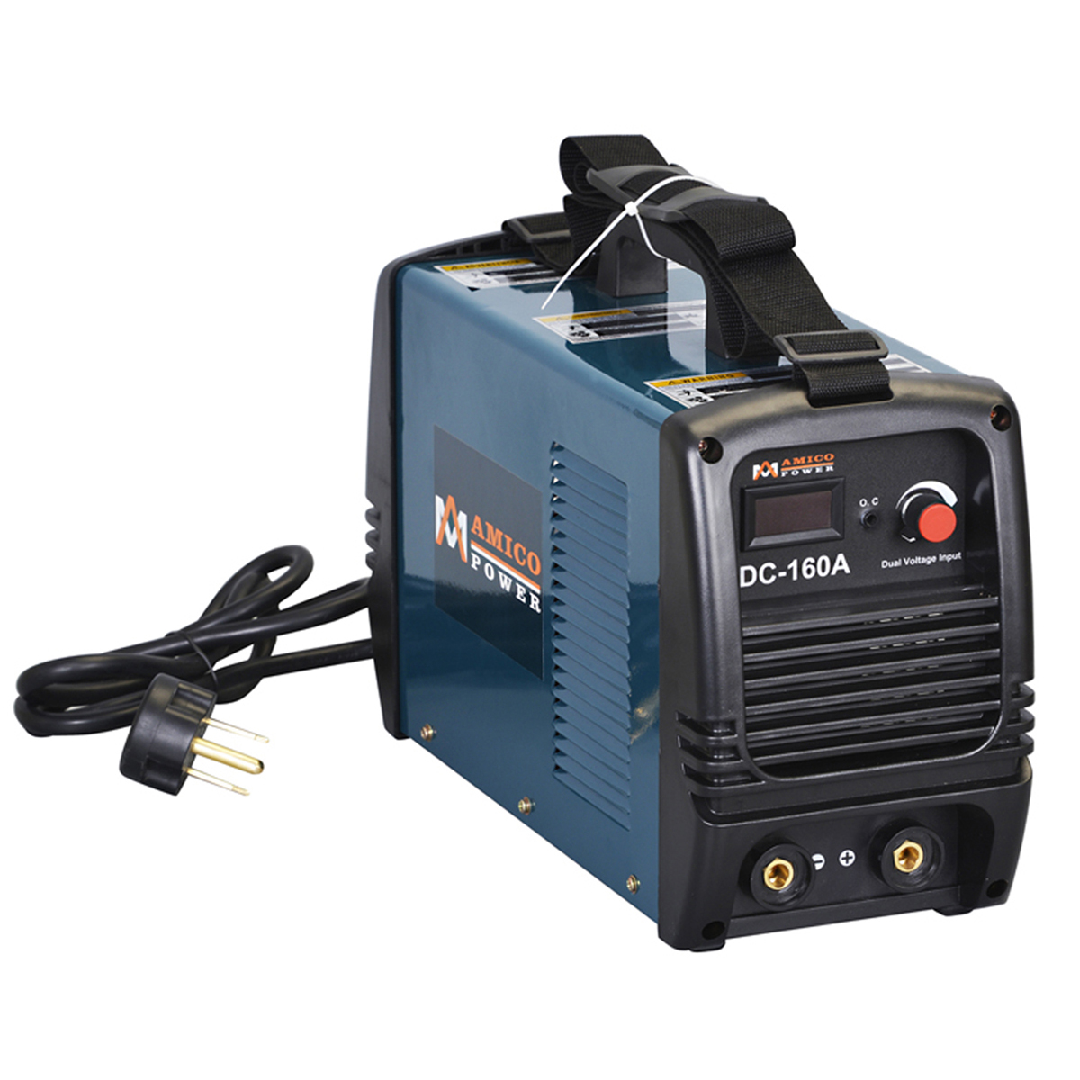 S160AM, 160 Amp Stick ARC DC Welder 115/230V Dual Voltage Welding Soldering Machine