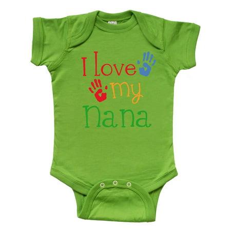 I Love My Nana Infant Creeper - I Love My Bff