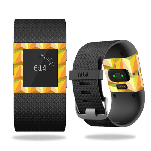 MightySkins Protective Vinyl Skin Decal for Fitbit Surge Watch cover wrap sticker skins 3D