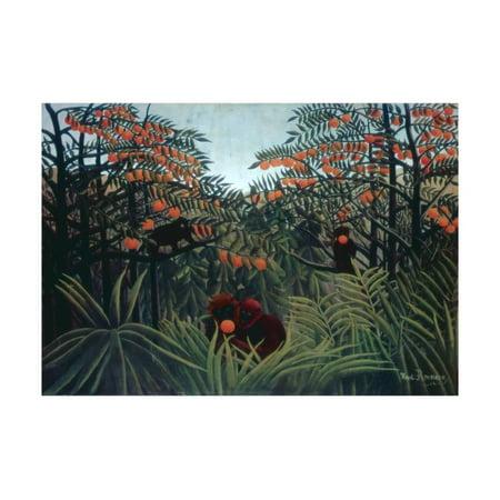 Henri Rousseau Artwork - The Tropics, 1910 Print Wall Art By Henri Rousseau
