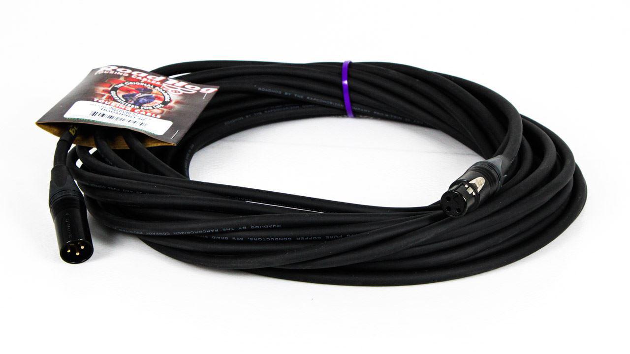 50-foot Rapco Roadhog Gold Pro XLR Mic Cable HOGMPRO-50 XLRM XLRF 50-feet by
