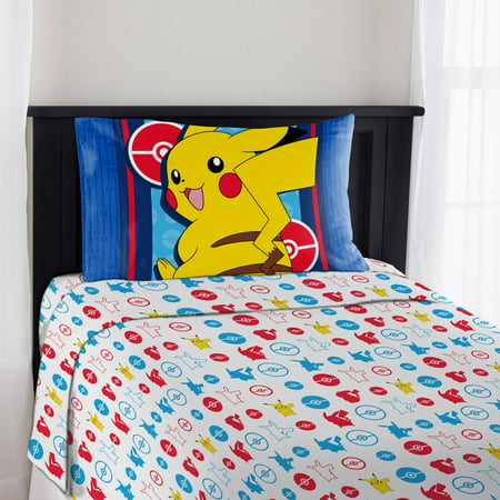 Maria Sheet Set - Pokemon Bedding Electric Ignite Sheet Set