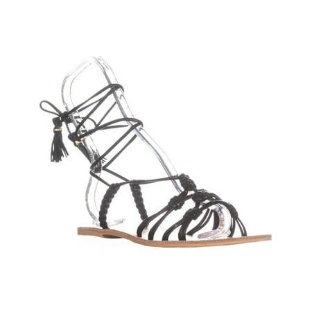 Nanette Lepore June Gladiator Sandals, Black - image 6 of 6