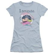 Electric Company I Am Cute Juniors Premium Bella Shirt