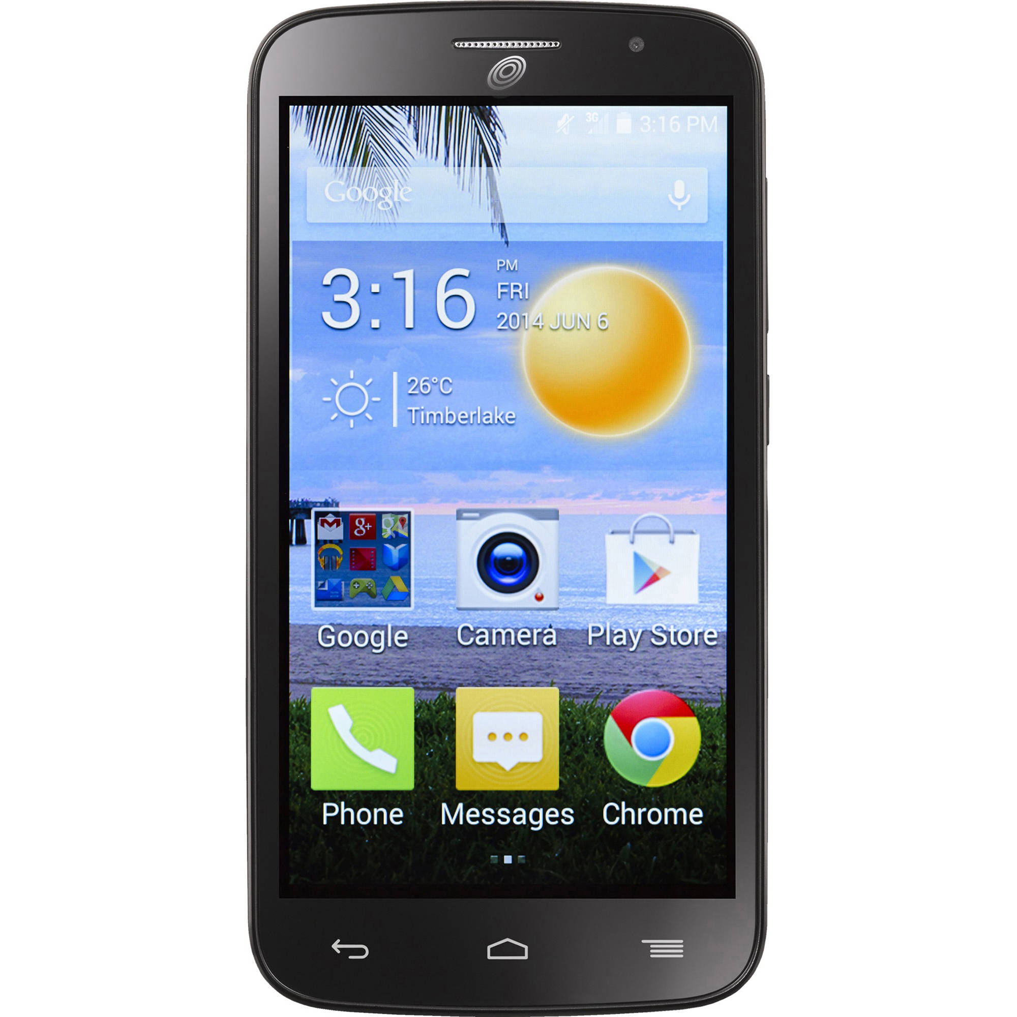 Straight Talk Alcatel Pop Icon Prepaid Smartphone