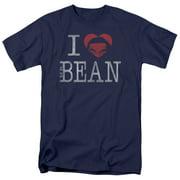 Mr Bean I Heart Mr Bean Mens Short Sleeve Shirt