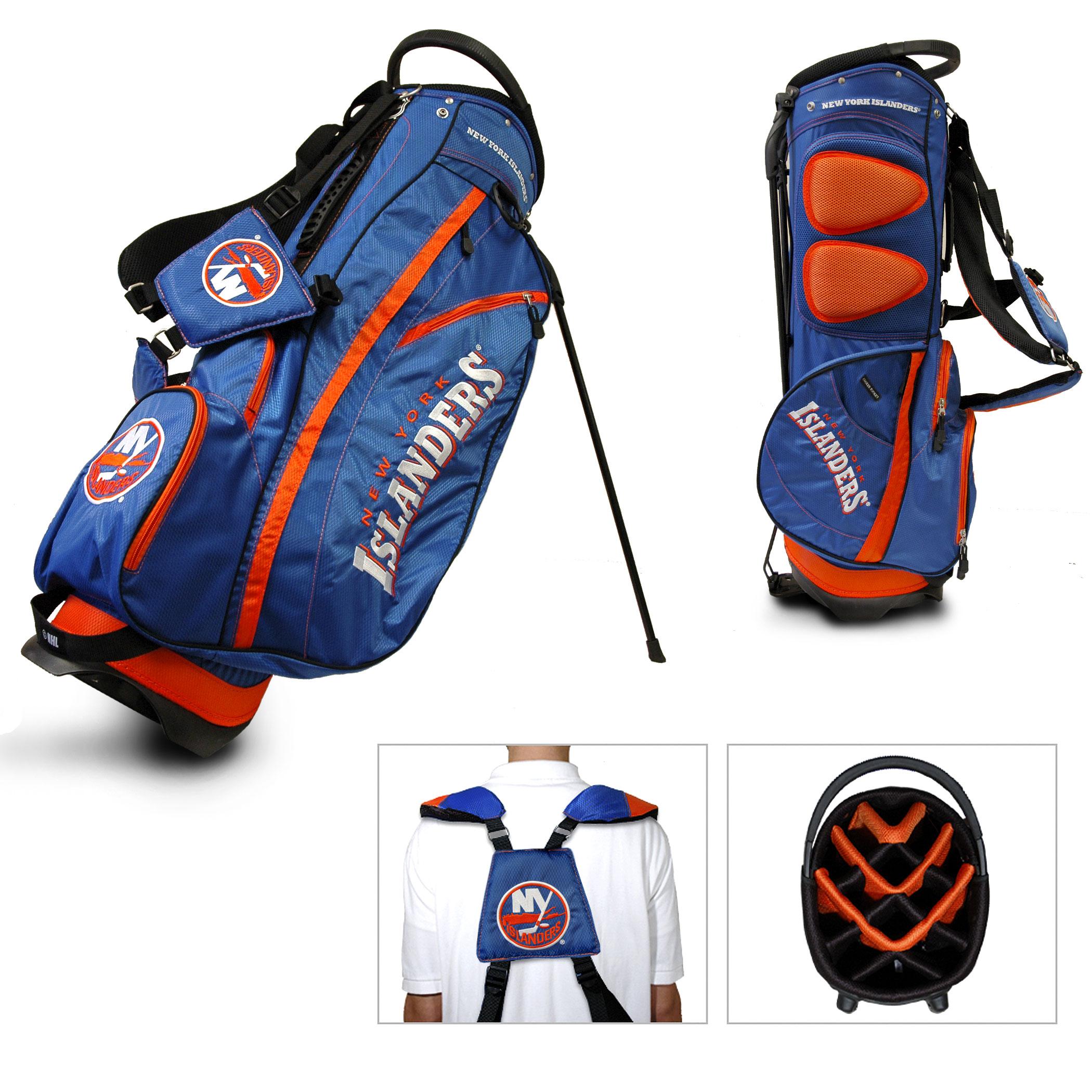 New York Islanders Team Golf Fairway Lightweight 14-Way Top Golf Club Stand Bag by