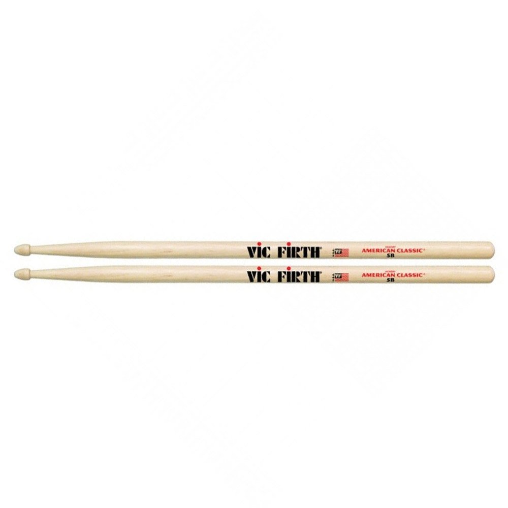 Vic Firth 5B American Classic Wood Tip Drumsticks 4 For The Price of 3! by Vic Firth