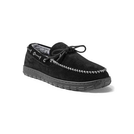 Shearling Footwear (Eddie Bauer Men's Shearling-Lined Moccasin Slipper )