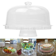 Evelots Acrylic Multifunctional Cake, Dessert & Appetizers Serving Stand Display