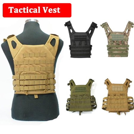 Military Armor Army JPC Vests Combat Tactical Vest Molle Plate Carrier Men Vests - Bullet Proof Vest Halloween