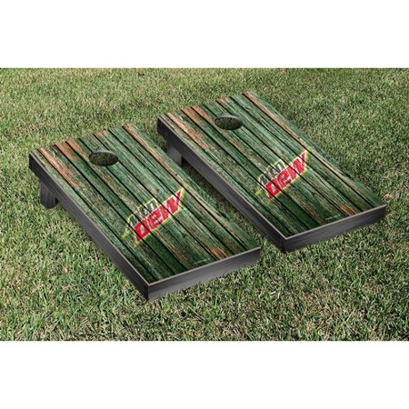 Victory Tailgate Mountain Dew Weathered Version Cornhole Game Set