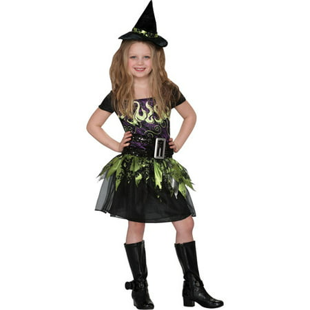 Spell Caster Witch Child Halloween Costume