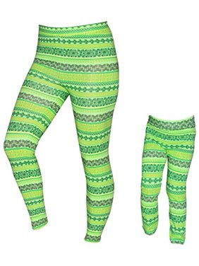 93d8c93b74c55 Product Image UB Girls Mommy and Me St Patricks Day Clover Leggings (18  Months)