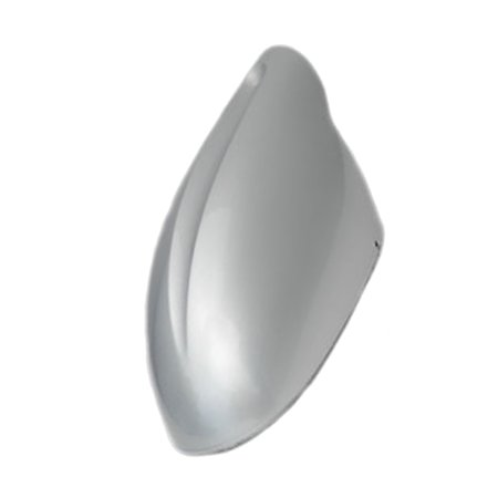Side Mirror Cap (CF Advance For 02-06 Nissan Altima Left Driver Side Mirror Cover Cap KY1 Light Silver Metallic 2002 2003 2004 2005)