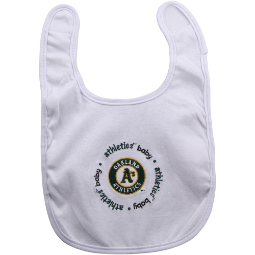 MLB Oakland Athletics 2-Pack Bibs