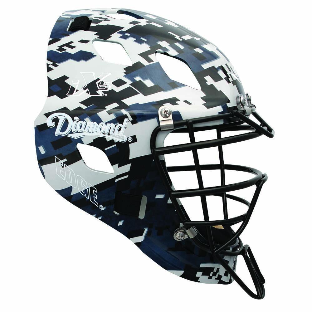 Diamond DCH-Edge Pro Catcher's Helmet Small - Navy Camo