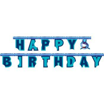 Shark Party Banner - Party Supplies
