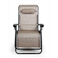 Camco 51832 Large Zero Gravity Chair, Tan