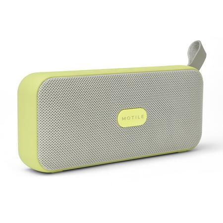 MOTILE™ Portable Bluetooth® Wireless Speaker, Citron