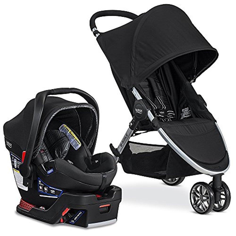 Britax 2017 B Agile & B Safe 35 Elite Travel System, Domino by Britax