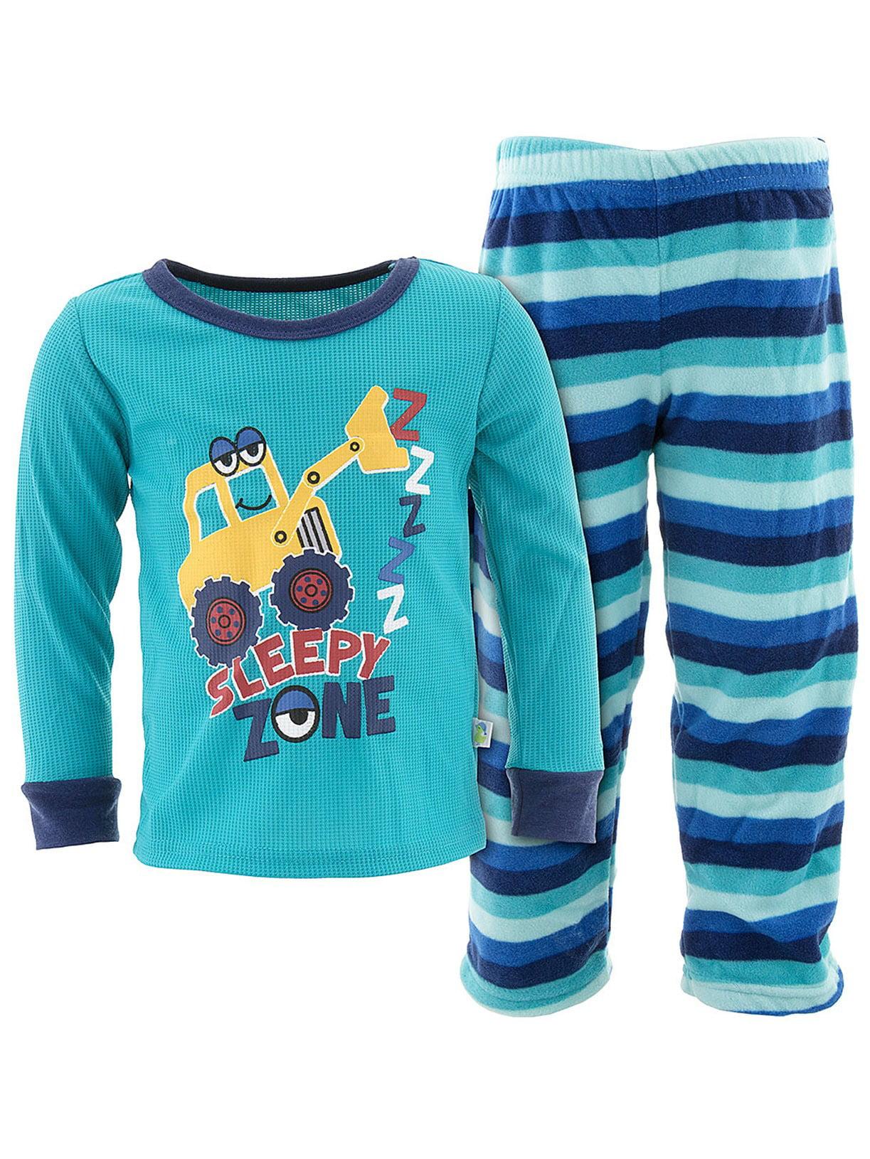 Mickey Mouse Pluto Donald Duck Toddler Boys Fleece Pajamas Set 21MK443ELL