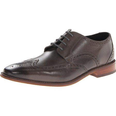 Florsheim NEW Gray Shoes 8.5M Castellano Oxford Wing Leather Shoe (Florsheim Saddle Shoes)