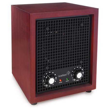 Ivation Ozone Generator Air Purifier, Ionizer & Deodorizer Purifies Up to 3,500 Sq/Ft Great for Dust, Pollen, Pets, Smoke & More