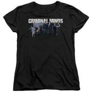 Criminal Minds Season 10 Cast Womens Short Sleeve Shirt